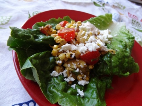 wraps with capers and tomatoes caprese corn salad summer corn salad ...