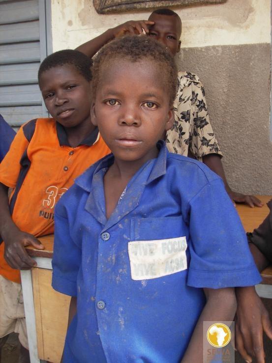 Schoolboy in Névri, Burkina Faso, West Africa