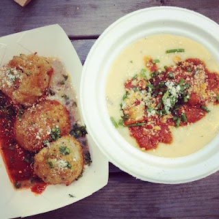 Arancini and Polenta from Thistletown High School Chefs, by @OrchardBloom ~ April 2012, #TUM