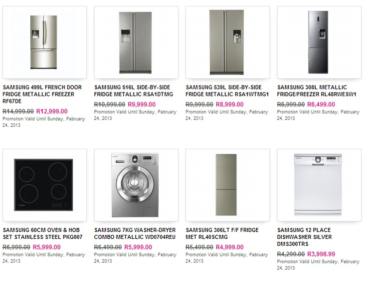 Get great #deals from #Game on #fridges and washing machines!
