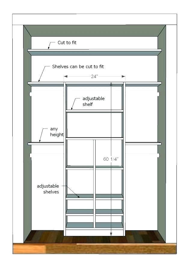 Image Result For Standard Closet Depth