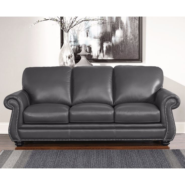 17 Best Ideas About White Leather Couches On Pinterest: 17 Best Ideas About Grey Leather Sofa On Pinterest