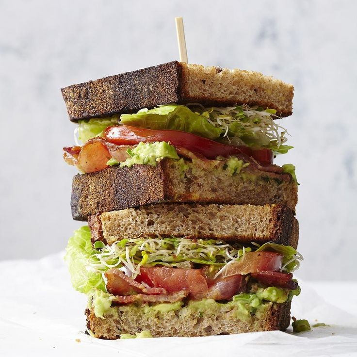 Adding avocado to a classic BLT? Genius! #LunchADay