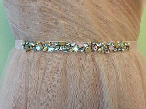 Fard à joues ou menthe Skinny dispersés cristal et perle
