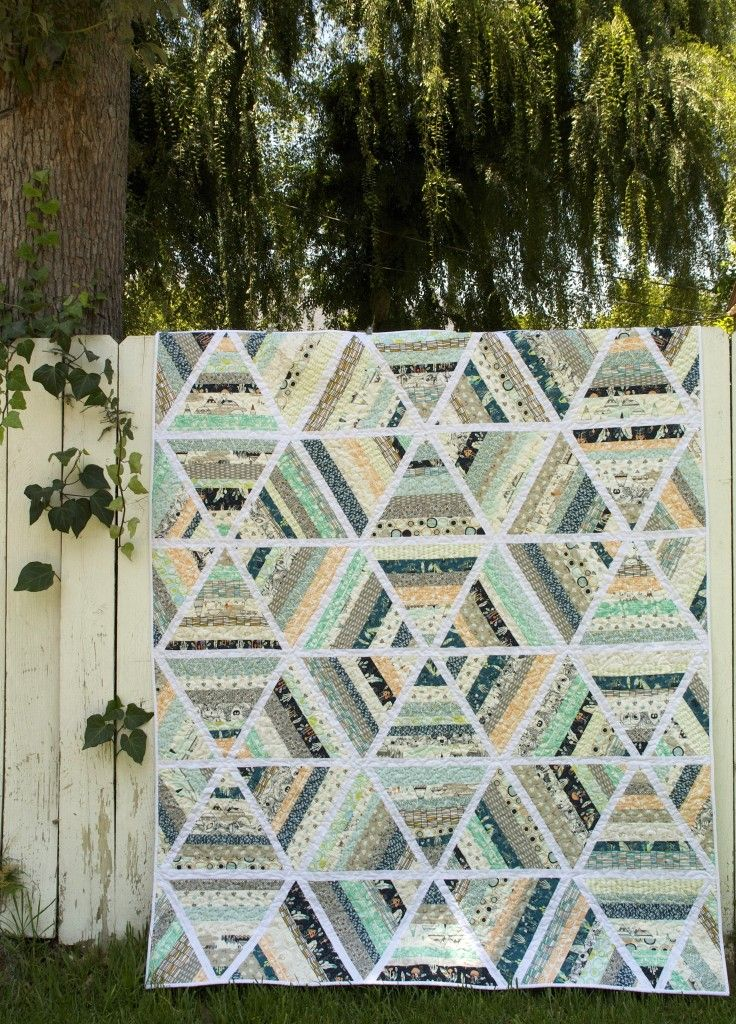 Fat Quarterly Issue 14: Summer  Possible idea for a bed quilt...