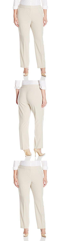 Nine West Women's Plus Size Stretch Pant, Desert, 24W