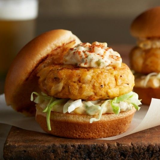 "Creole Cod Cake Sliders with Cajun Tartar Sauce! That is a lot of words to say ""Great Lent Dinner"""