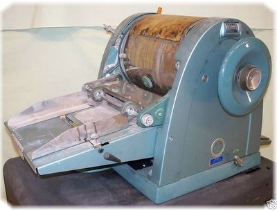 Before copiers, the mimeograph (ditto) machine duplicated documents such as tests and handouts at school.  The pages had a distinct smell.