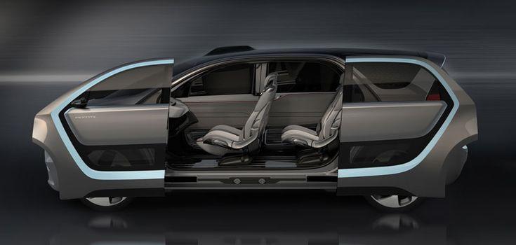 #CES2017: Chrysler Portal Concept con reconocimiento facial