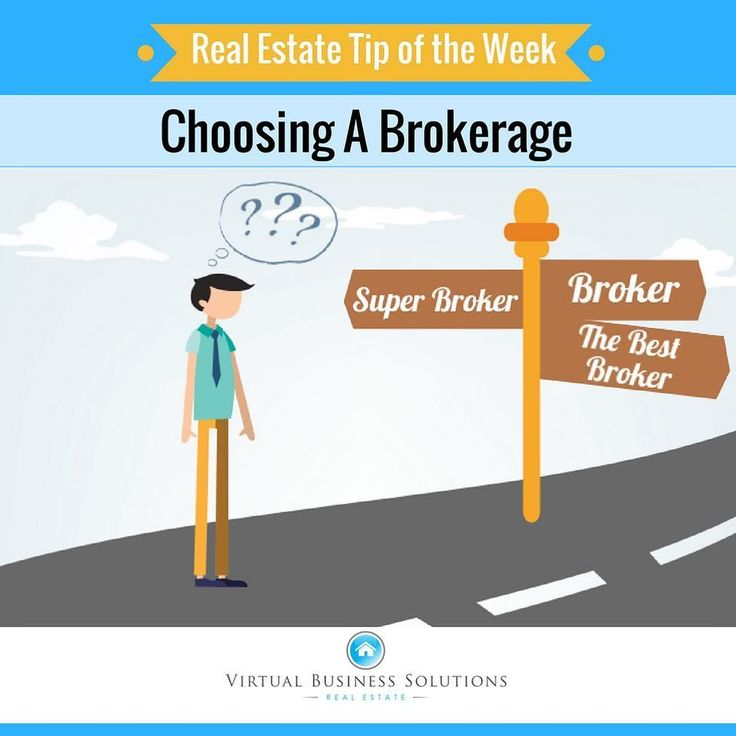 Tip of the Week: Choosing A Brokerage  Too many new real estate agents think a real estate broker choice is primarily based on commission splits. It's not all about the split as the final in-your-pocket income has to do with many variable services provided by brokers.  First remember that you're an independent contractor and own your own business.  You may have to hang your shingle with a broker but it's your business and your success is up to you.  However the brokerage you choose can make…