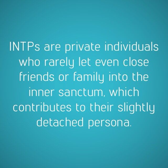 INTP Quirks — Detached from earth