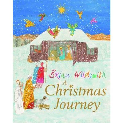 A Christmas Journey by Brian Wildsmith.  After Mary sets out for Bethlehem with Joseph, a Christmas journey for her cat and dog also begins ... In his enchanting retelling of the Nativity story, Brian Wildsmith brings a host of animals to the stable on the night that Jesus is born. A delightful book to share with children at Christmas time.