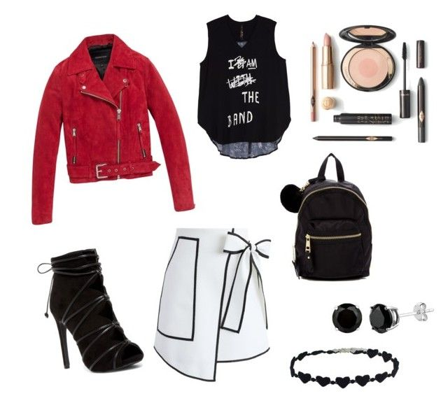 let the hot girl alive by reniaulia on Polyvore featuring polyvore fashion style Melissa McCarthy Seven7 Andrew Marc Chicwish Madden Girl clothing