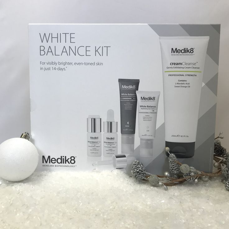 Be sure to add the Limited Edition White Balance kit from @medik8 to your wish list this xmas for visibly brighter and even skin https://goo.gl/sE5DWh https://youtu.be/I_Pn6gUTm6c