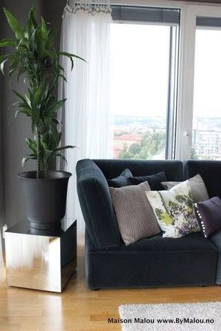 Interior design done by Maison Malou, bachelor apartment in Oslo. www.ByMalou.no