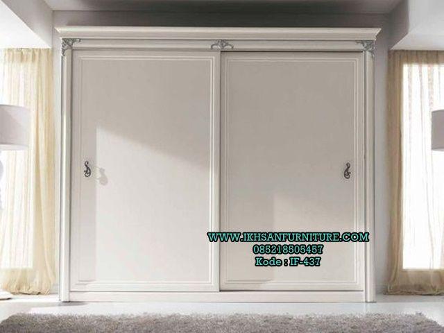 Lemari Pakaian Mewah Pintu Geser Terbaru Modern