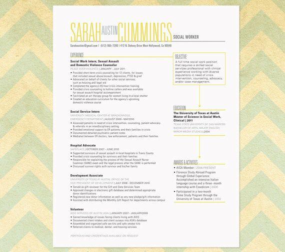 Resume Sample The Austin Etsy Cover Letter For Resume Job Hunting Resume Design