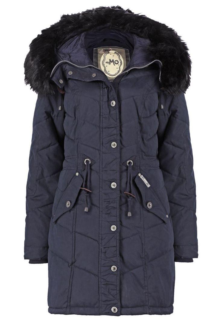 myMo Płaszcz zimowy dark blue 1,089.00zł #moda #fashion #women #kobieta #myMo #płaszcz #zimowy #dark #blue #damski #długi #granatowy