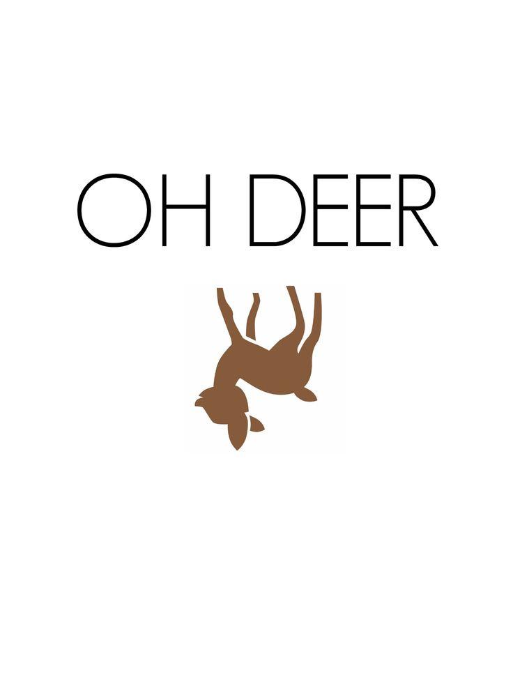 OH DEER.. ☆ #howcute #reindeer #annaninanl