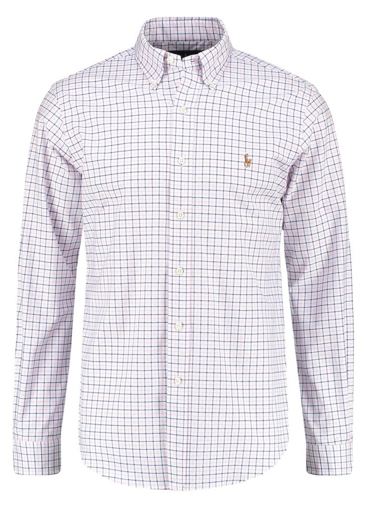 Polo Ralph Lauren SLIM FIT Hemd pink/white Premium bei Zalando.de | Material Oberstoff: 98% Baumwolle, 2% Elasthan | Premium jetzt versandkostenfrei bei Zalando.de bestellen!