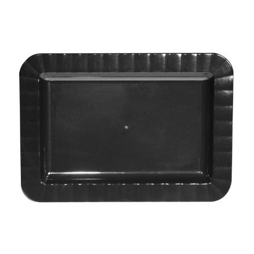 #Party #Essentials #Deluxe #Quality #Hard #Plastic #Rectangular #Appetizer #Plates Northwest Enterprises #deluxe #plastic 5 x7 inch #rectangular #appetizer #plates; holds ample servings without bending; available in clear, black, white Each package contains 24 #appetizer #plates with a slight depth and gently fluted edges Elegant styling; soak-proof; cut resistant; hand wash, reusable; disposable; #deluxe bowls, dinner, lunch, salad and dessert #plates are also available http