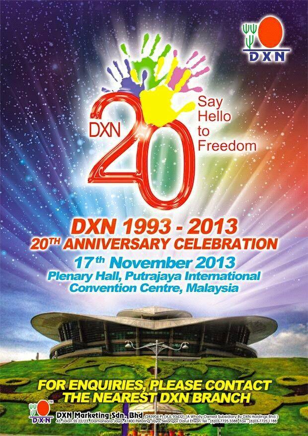 DXN 20th Anniversary