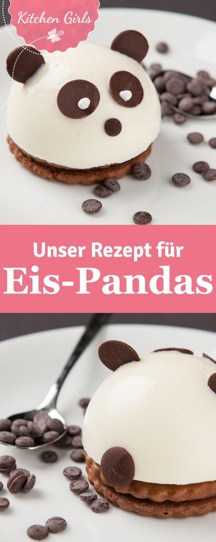 Hier findet ihr unser Rezept für Eis-Pandas - vermutlich da niedlichste Eis, das ihr je gesehen habt!