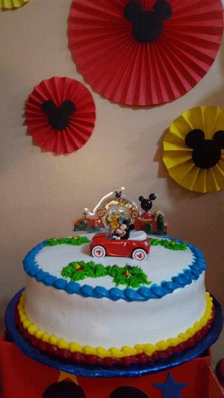 Bizcocho Mickey Mouse