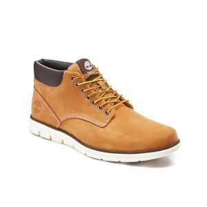 Timberland Men's Bradstreet Leather Chukka Boots - Wheat: Image 2