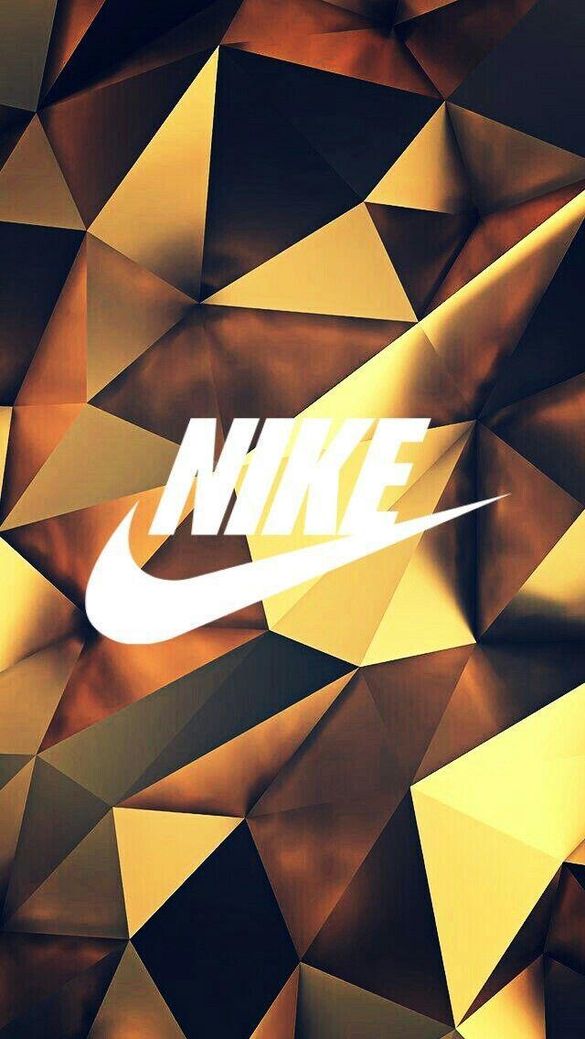 Fond d'écran Nike Sur Fond doré – #décran #dor…