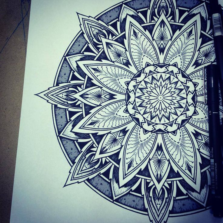 Solstice Mandala Project Day001 by OrgeSTC.deviantart.com on @deviantART