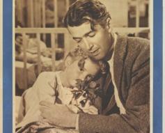 1946 'It's A Wonderful Life' Original Italian Film Poster #vintageposters #vintageseekers