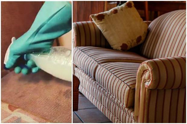 Jak wyczyścić sofę