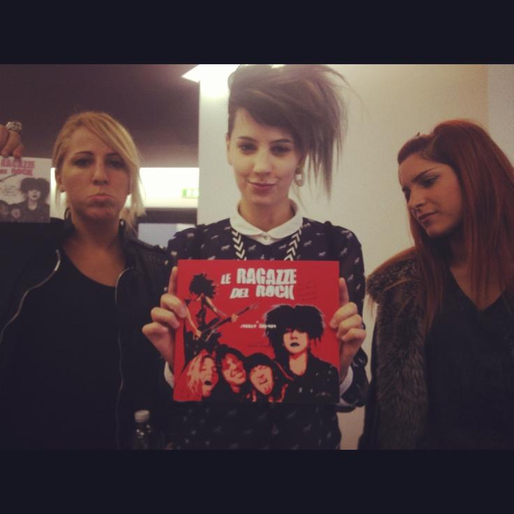Le ragazze del rock italiano!