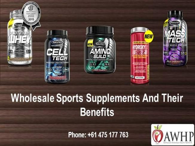 There are a number of sports supplements which are very useful in order to maintain the metabolism of the body. Try any of the Australian wholesale supplements and ke..