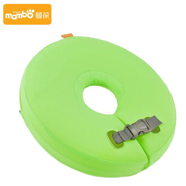 Swimtrainer No need pump air More Safety Swimming Ring Free inflatable collar Quality Baby Neck Swimming Ring christmas gift