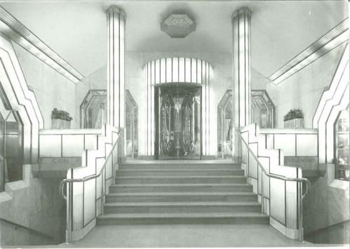 Strand palace hotel foyer 1930 31 the foyer combined for 1930s hotel decor