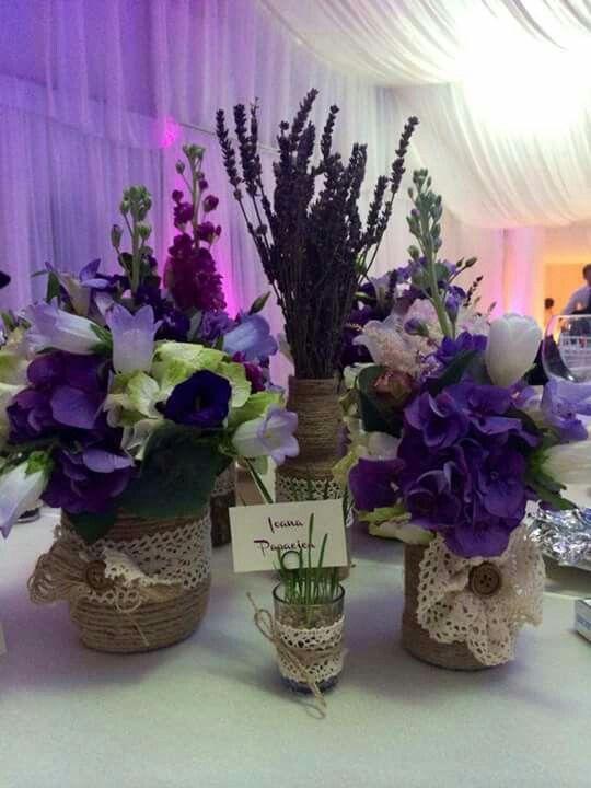 @rustic wedding arrangements