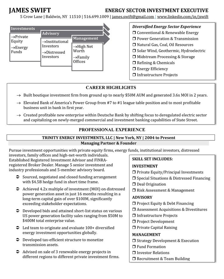 19 best resume images on Pinterest Cover letter for resume - banking executive resume