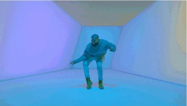 "We're All Obsessed With Drake's Glorious Dad Dancing in New Video for ""Hotline Bling""   - ELLE.com"