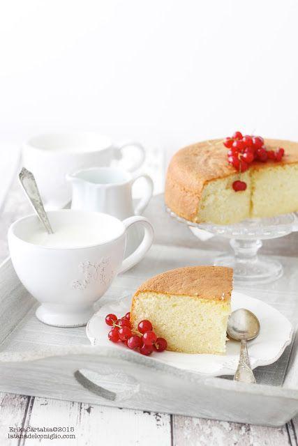 La tana del coniglio: Hot milk sponge cake
