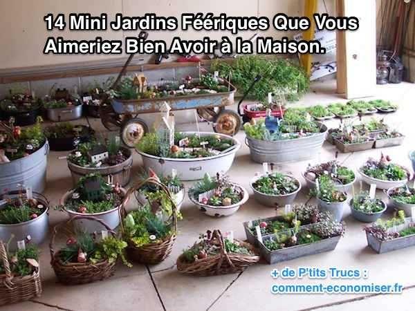 Que ce soit pour votre intérieur, votre jardin ou votre balcon, ces jardins féériques vont ajouter de la vie à votre maison. http://www.comment-economiser.fr/14-mini-jardin-feeriques-pour-la-maison.html?utm_content=bufferf55bf&utm_medium=social&utm_source=pinterest.com&utm_campaign=buffer