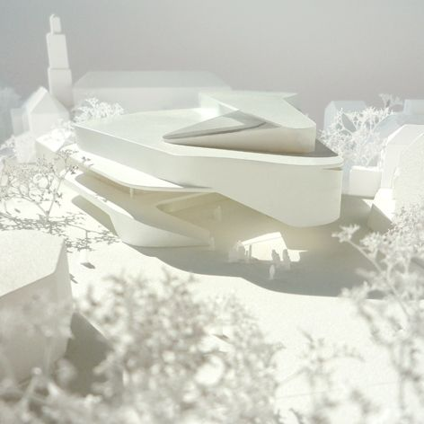 Architectural Model - Hascher Jehle Architektur