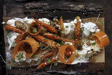 Kuinka porkkana voikaan maistua näin hyvältä: Porkkanoita ja saksanpähkinöitä