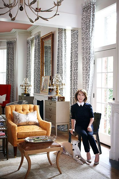 The Parlor: President Of Savannah College Of Art And Design, Paula  Wallaceu0027s Home In