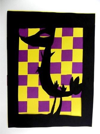 weaving/silhouette
