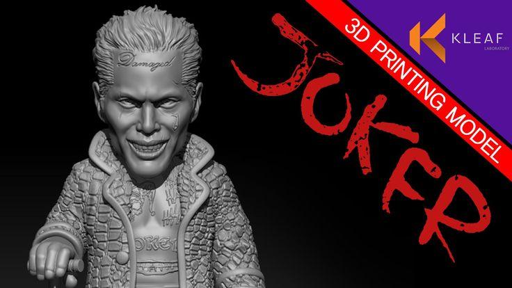 JOKER for 3d printing model