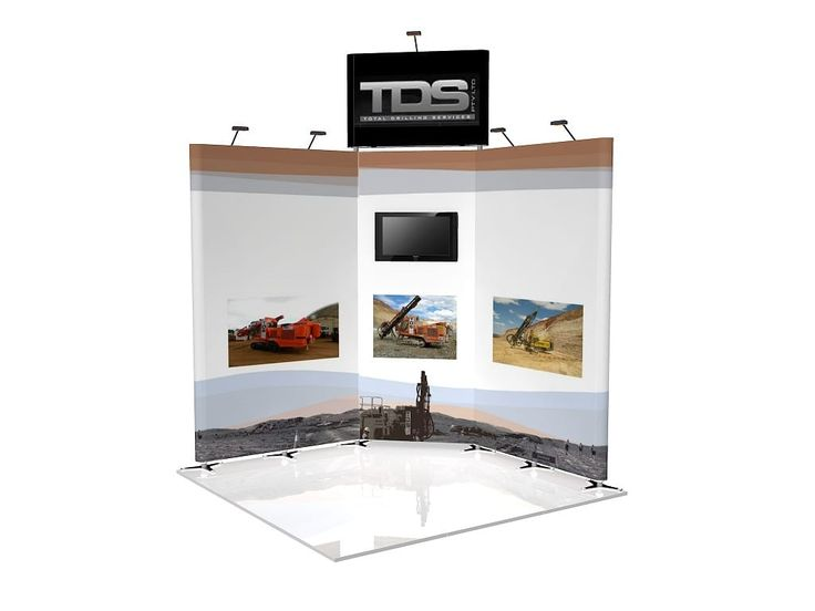 Corner Exhibition Stands Alone : Best corner angle trade show booth layouts images on