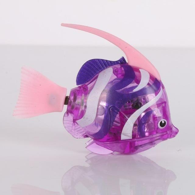Luminous Electric Fish Robots Swimming Electronic Energy Ornamental Fish Aquatic Pet Supplies