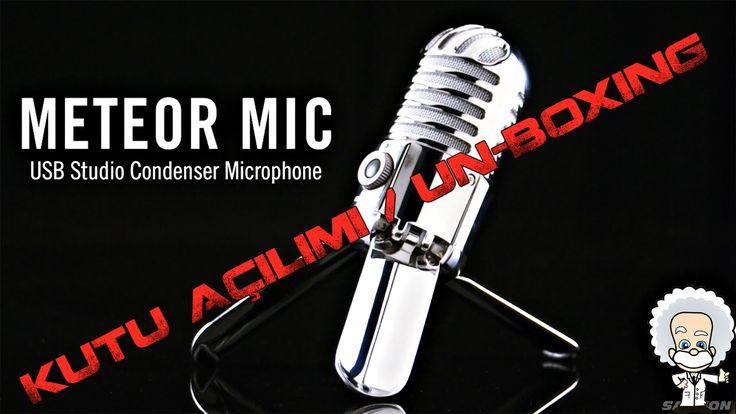 Samson Meteor Mikrofon | KUTU AÇILIMI / UN-BOXING